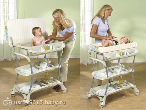 Обзор детских ванночек
