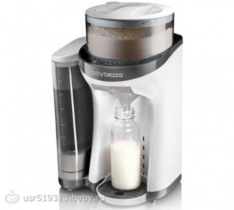 Как правильно приготовить детскую молочную смесь