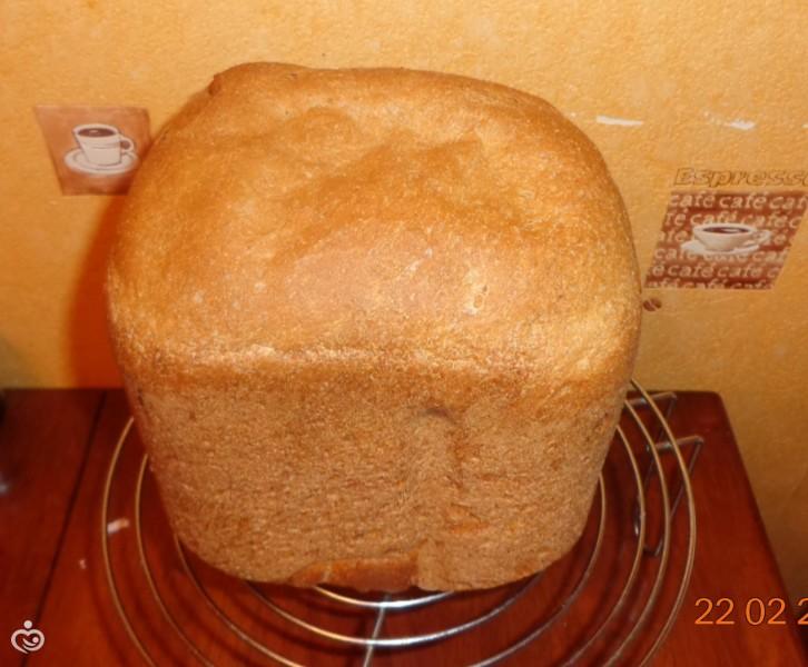 Хлеб цельнозерновой из непросеянной муки