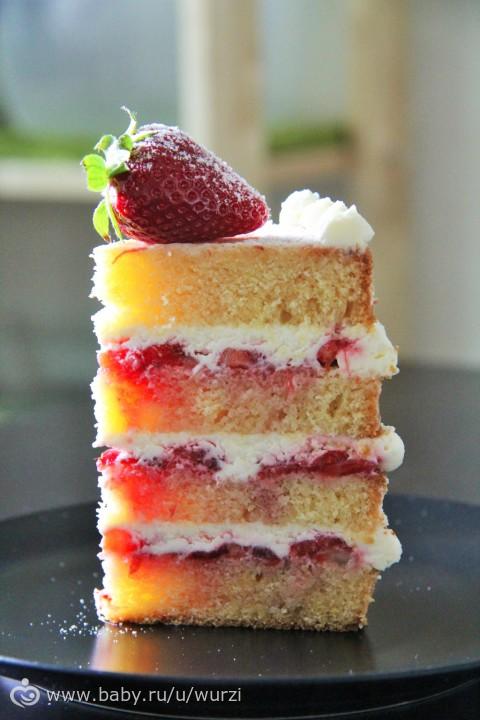 Бисквит королевы виктории рецепт с фото