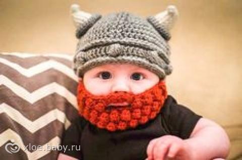 Забавные шапочки для малышей 92