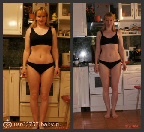 Похудеть за месяц без диет