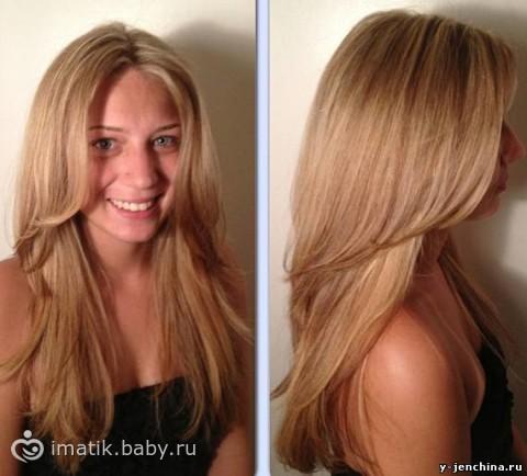 Как можно красиво подравнять длинные волосы