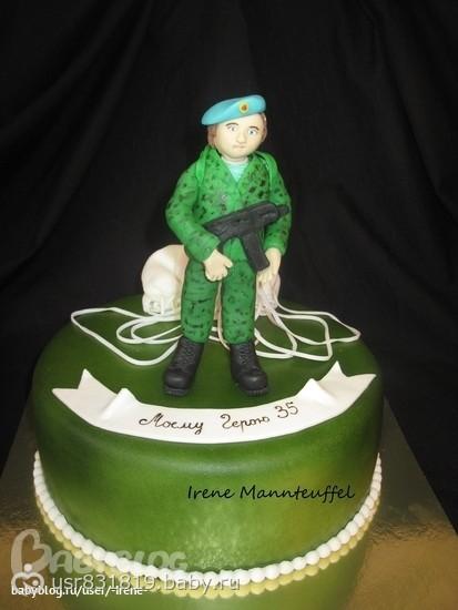 торт военному на день рождения фото
