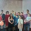 Мои дети, я, сестра с детьми и бабушки
