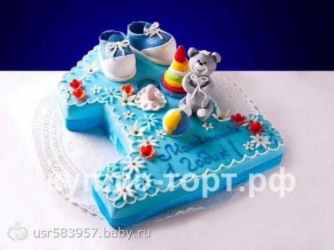 детские торты на день рождения 1 год фото