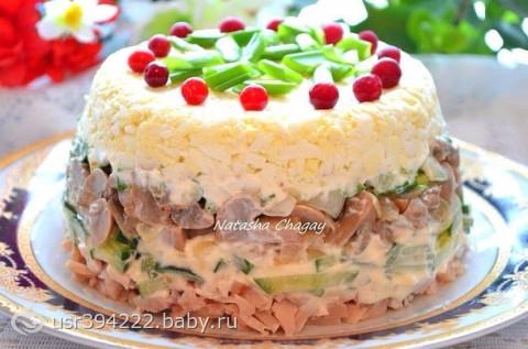 Самые вкусные рецепты салатов фото