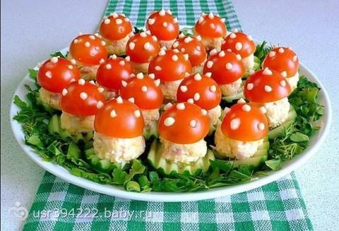 Салат к праздничному столу рецепт с фото