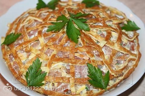 Рецепты корзинок для салатов с фото