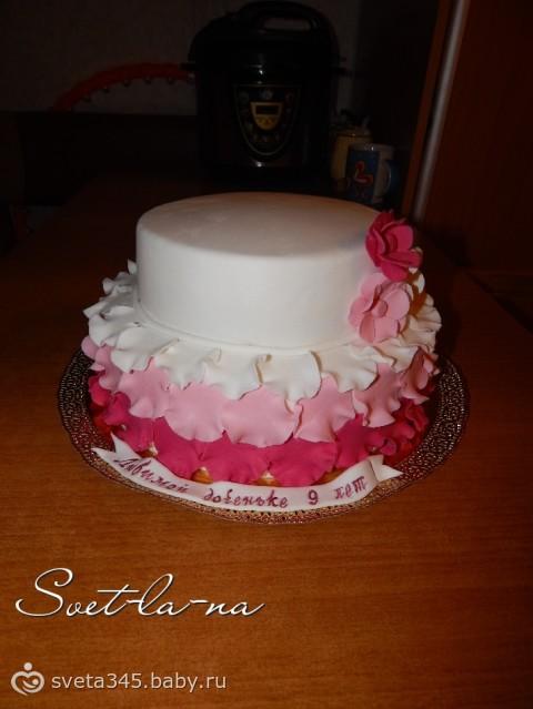 Торт с заварных трубочек фото 11