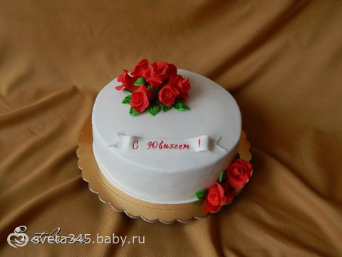 Торт подушка МК  babyblogru