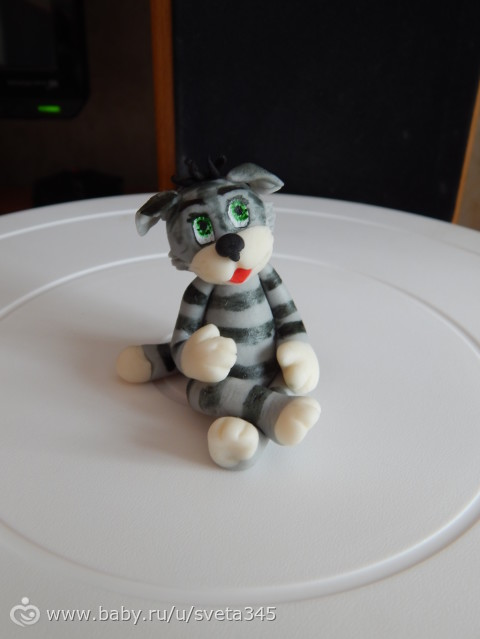 Пластилин кот матроскин
