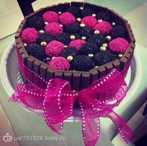 как приготовить торт на первый день рождения