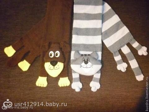 Детский шарфик,своими руками,котошарф,вязаный котошарф,мастер класс,шарф в виде кота,вязание детям,вязание спицами,пряжа,как связать котошарф.