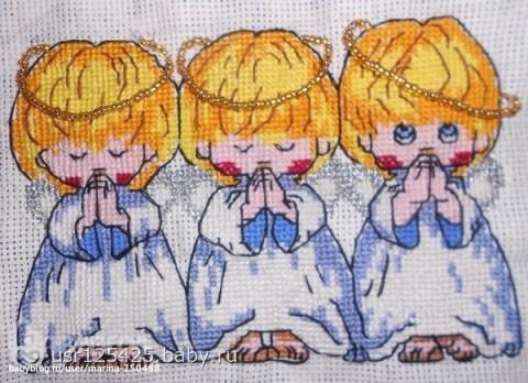 Ангелочки вышивка almost perfect