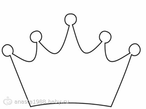 Шаблон короны принцессы своими руками фото 718