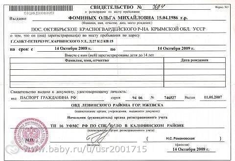 Как получить регистрацию в краснодаре гражданину украины регистрация в спб для российских граждан