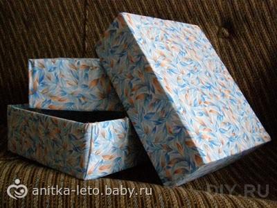 Как сделать и украсить подарочную коробочку из бумаги - Мама 81