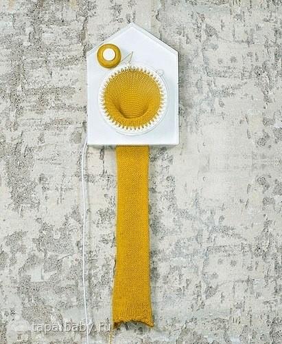 Часы, которые вяжут шарф