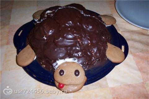 Торт черепаха с фотографиями
