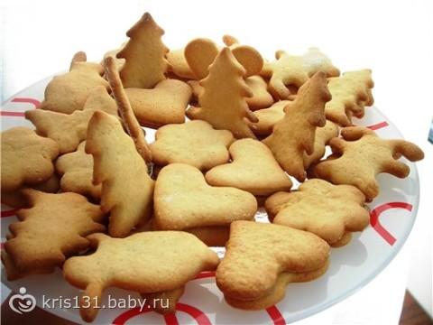 рецепт детского печеньч