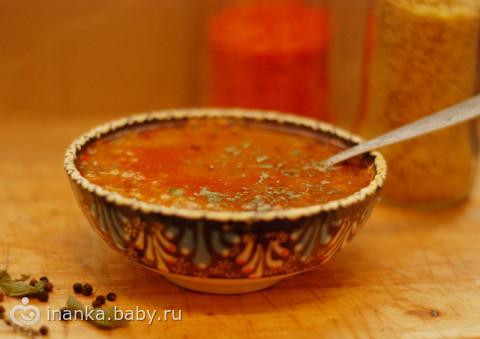 Турецкий суп эзогелин рецепт