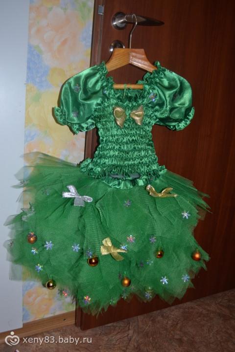 Новогодний костюм Ёлочки - Рукоделие - photo#12