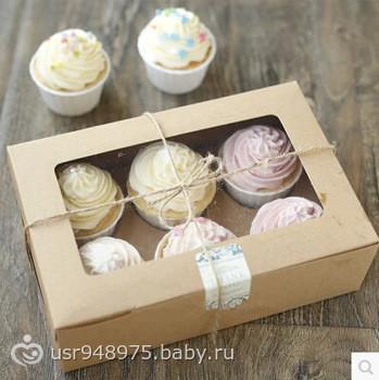 Как сделать коробку кекс