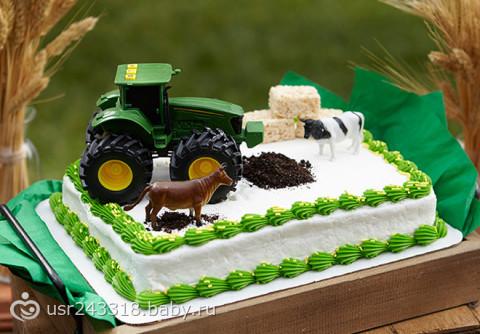 Торт комбайн фото