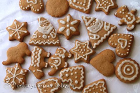 лучшие рецепты имбирного печенья