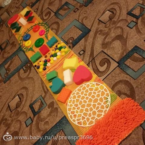 Из чего можно сделать массажный коврик