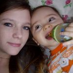 Мой любимый мальчик строит маме глазки=)))