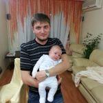С нашим любимым другом семьи, Андрюшкой
