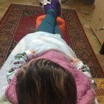 Какие ножки длинные у малыша!!!