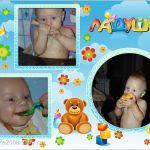 Маленький плодожорка )))