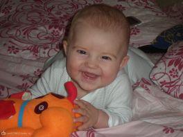 Мой сынулька-красотулька